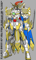 Heaven Gundam G3 (Official HD Colour Complete) by WhiteHawk91