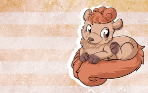 1280x800 Vulpix. by Tazli