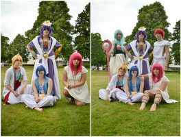 Magi - All the Friends. by Tohkoe