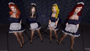 Halloween 2015 Cosplay: Maids by BethanyHunter