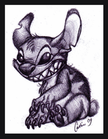 Stitch sketch by Kaaziel