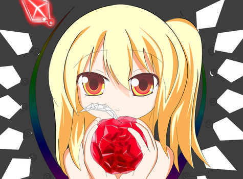 Work In Progress: Flandre Scarlet by zWaffle