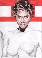 Halle Berry by golhom