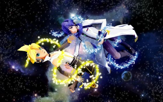 Space Duet by BarberryGarden