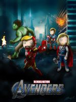 Chibi Avengers by JC-790514