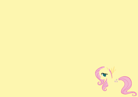 fluttershy wallpaper by ElementOfGaming