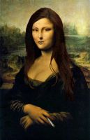Mona Lisa by AmoMiMarmota