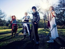Sword Art Online Group 1 by SNTP