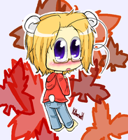 Maple Polar Bear by Katfuzzmunchkin