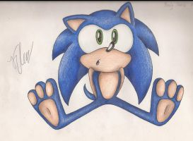 Baby Sonic by SonicBornAgain