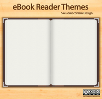 eBook Reader Themes iOS Android User Interface by raditeputut