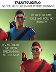 Ask CnD No. 96: Parkour? by ZeFlyingMuppet