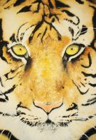 Tiger Painting by AppleSpirit