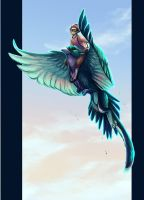 speed paint comm for KayTay89 by painted-bees
