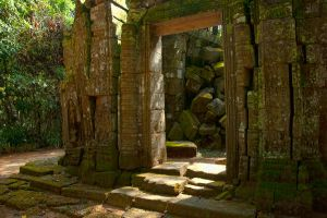 Angkor Wat Stock by little-spacey