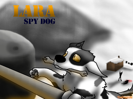 Spy Dog Lara - 1 yr Difference by TheDogzLife