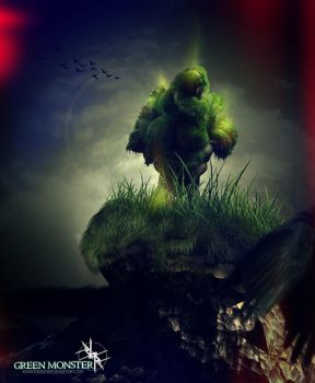 Green Monster by 12avendesigner