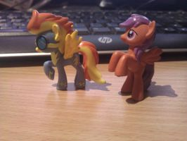 Scootaloo and Spitfire Custom Blindbags by adjt111