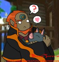 Ganondorf's long lost brother by BrokenTeapot