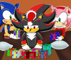 Contest entry - you got us and be happy Shadow - by SQuietSonamy