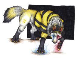 ::WOLFSTUCK:: The Psiioniic by Suenta-DeathGod