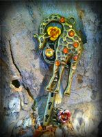 Custom Giraffe Key by ArtByStarlaMoore