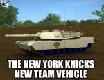 The New York Knicks Tank by ImfamousE