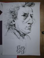 Fryderyk Chopin by Racuch
