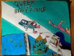Courage the cowardly dog queen of the black puddle by Brandondeath777