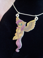 Fluttershy Necklace by Busoni