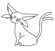 Espeon template by shadowxmephiles