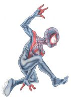 Ultimate Spider-man by michaelboarts