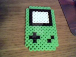 Gameboy Colour Perler by MeeganUrufu