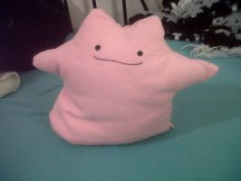 Ditto Plush by NeonZebraFluff