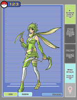 Scyther Gijinka by bulletproofturtleman