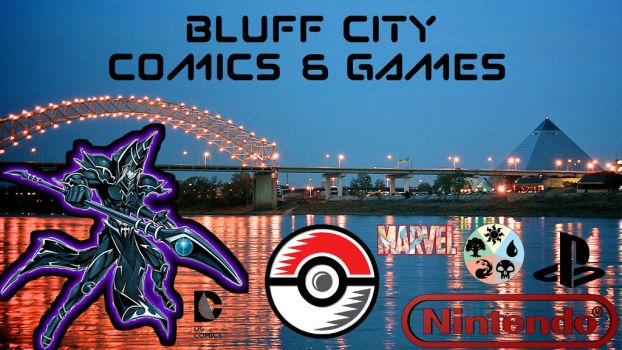 Bluff City Comics and Games by FrancisJeremyXavyer
