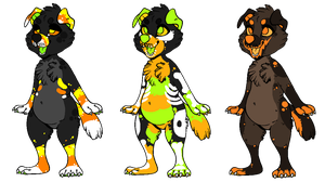 Halloween Pup Adopts by Mulch-Adopts
