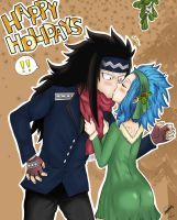 Happy -late- Holidays ~Gajevy~ by lamoco-13