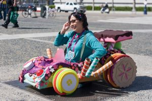 Vanellope on the Road by Stormfalcon
