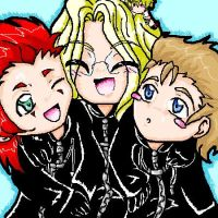 Me and my fav OrgXIII members by Saria-chan