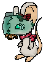 MY FIRST PIXEL DRAWING WOWOWOW? by LuxyMeow
