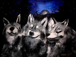 wolves by angelwith1morea15