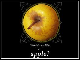 Would you like an apple? by lotus82
