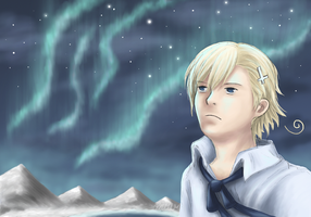 APH - Northern Lights by Mosrael-the-Waker