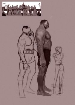 Strongman competition 2 wip by FUNKYMONKEY1945
