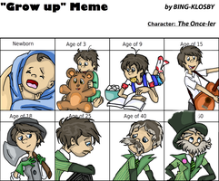 Grow up meme (Once-Ler) by Bing-Klosby
