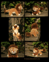 Plushie: Leo the Lion by Avanii