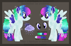 Rainbow Runner Reference Sheet by Twiinyan
