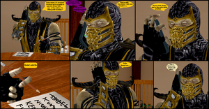Mileena's Party part 4 by Texmoder