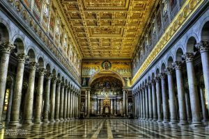 Basilica of Saint Paul Outside the Walls by valiunic